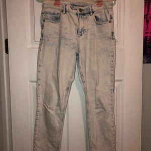 Express Acid Wash Jeans